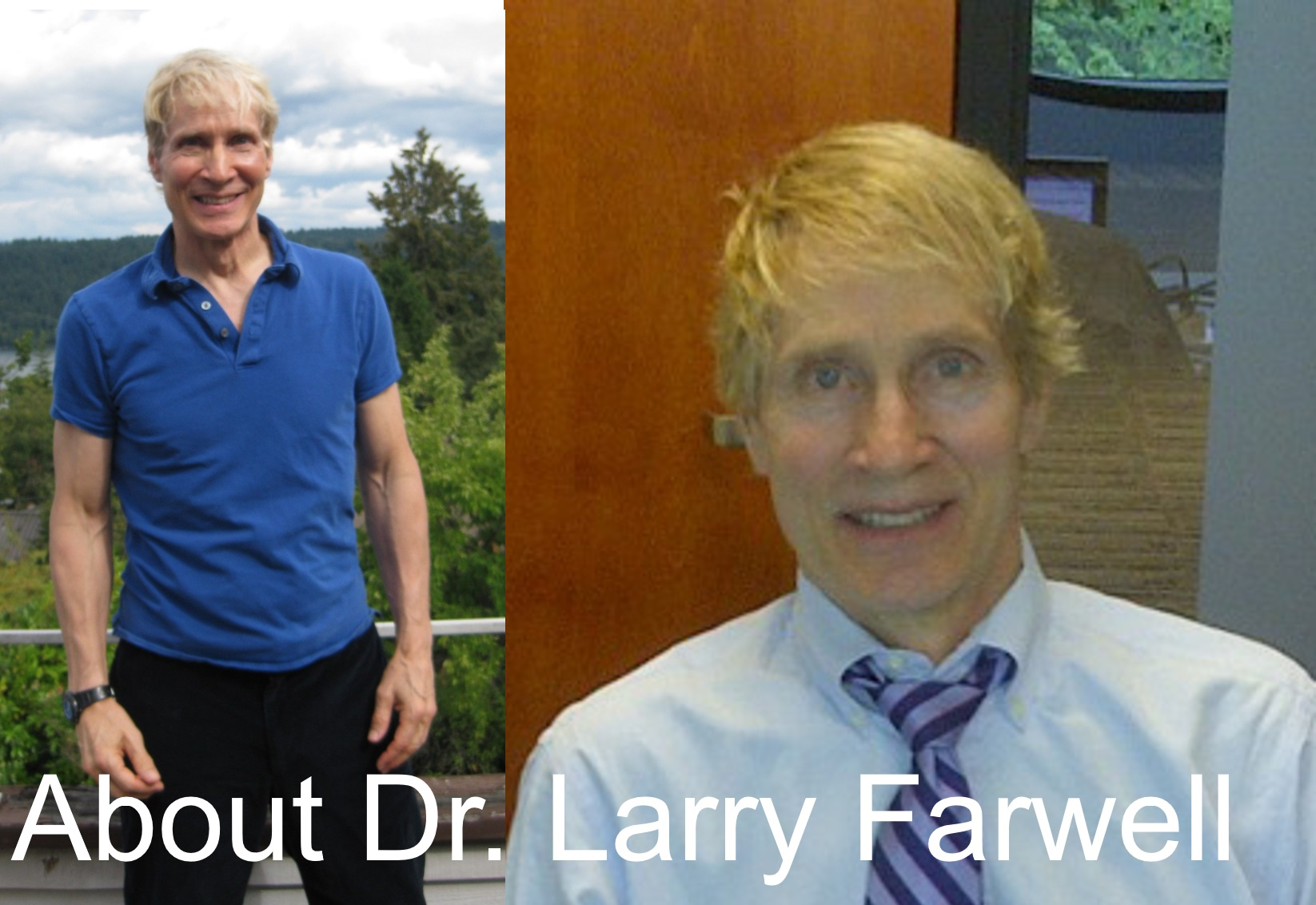 About Dr. Farwell Pic Plus Label