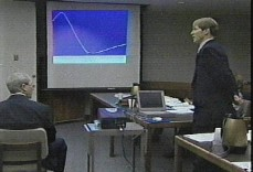 Dr. Larry Farwell testifies in court in