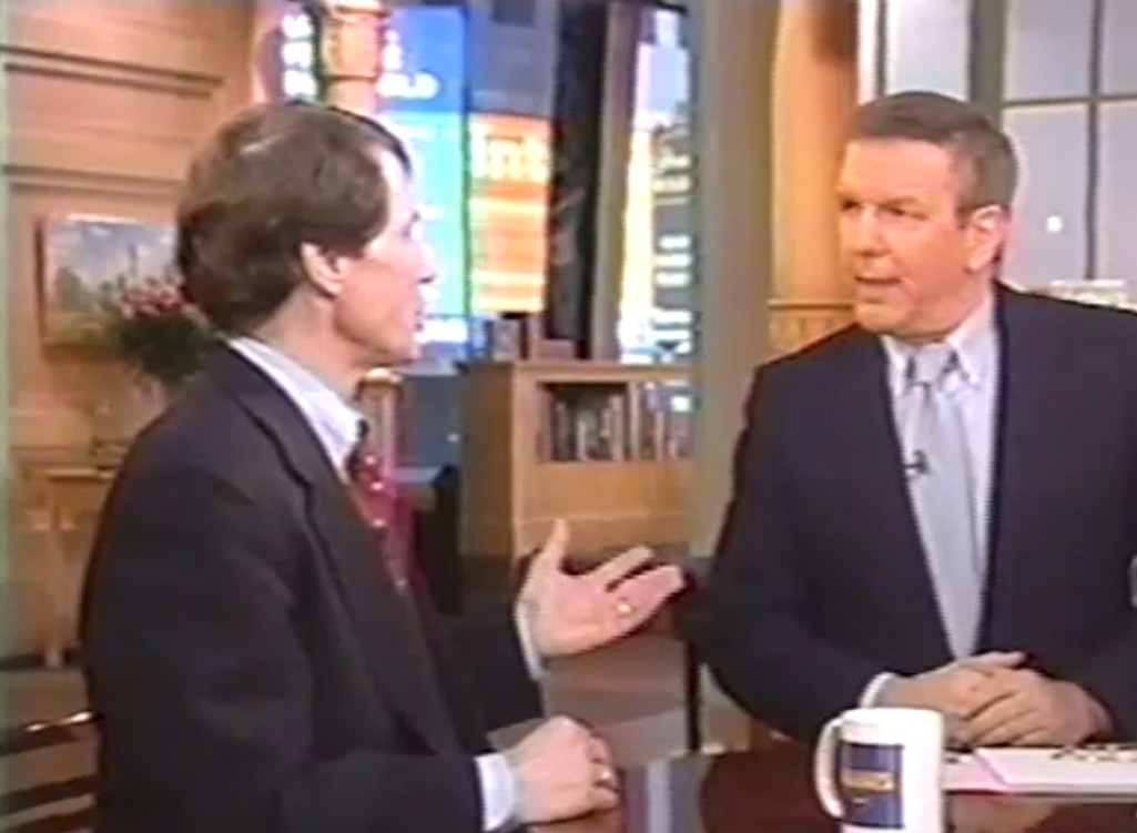Charles Gibson interviews