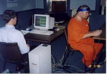 Farwell Brain Fingerprinting test being